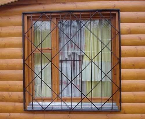 Решетка на окна цена с установкой москва