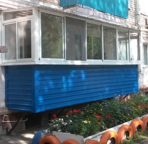 Пристройка строительство балконов и лоджий в благовещенске т.