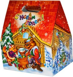 Новогодняя картонная упаковка в Беларуси. Сравнить цены, купить